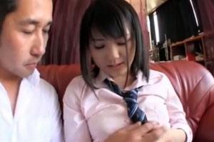 No552|黒髪で制服の似合う女子校生の巨乳をもんでおまんこをいじっちゃうけしからん動画がこちらですwww