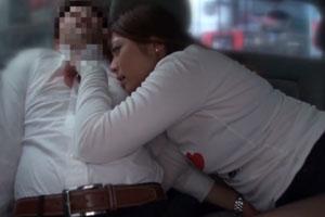 No767|待ちきれなくて車の中で乳首をくりくりして責めだす巨乳のお姉さんがいやらしすぎて困る動画